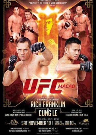 Бои без правил: UFC on Fuel TV 6: Rich Franklin vs Cung Le (2012) HDTVRip