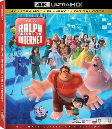 Мультик Ральф против интернета / Ralph Breaks the Internet (2018)